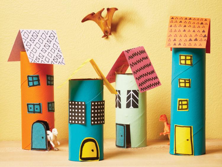 Mainan Anak dari Barang Bekas