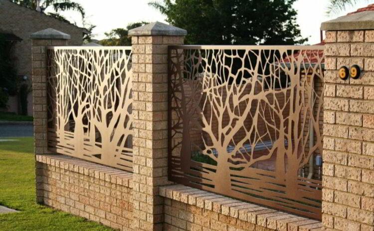 Inspirasi Pagar Tembok Dekoratif