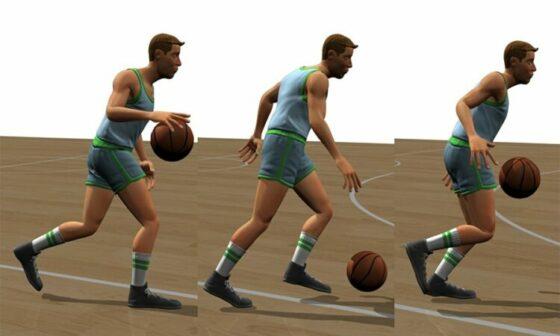 Dribble Bola Basket