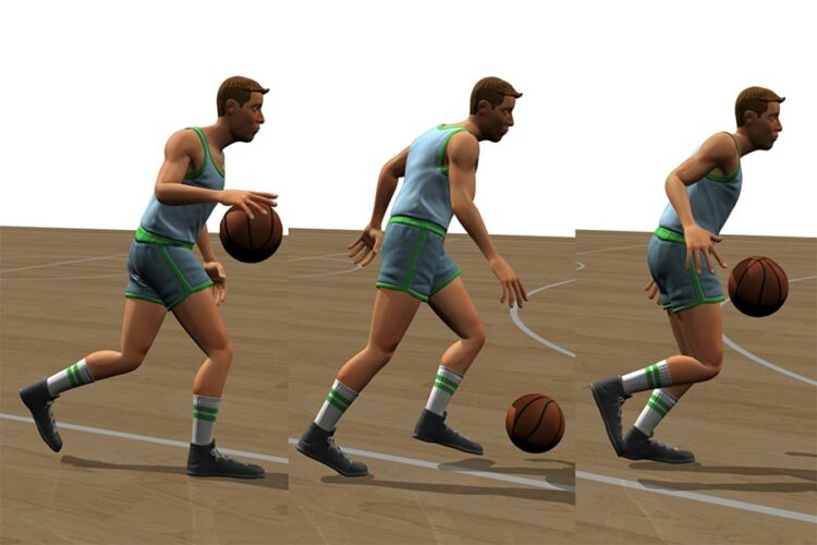 Dribble Bola Basket