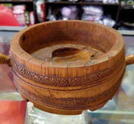 Kerajinan Asbak dari Bambu
