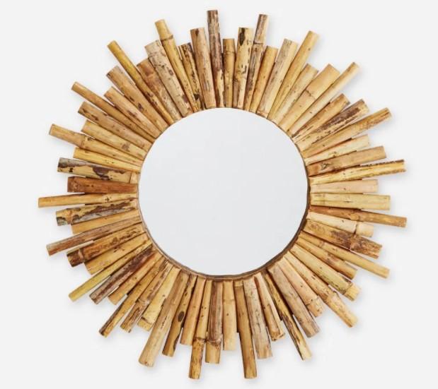 Kerajinan Hiasan Dinding dari Bambu