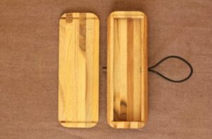 Kerajinan Kotak Pensil dari Bambu